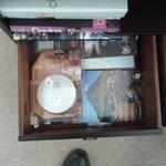 Smoke Alarm in Bedside Drawer Room 2 Inverlochy Villas 23 July 2013