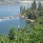 Manitou Beach and Okanagan Lake