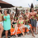 Bud Light Lime Girls with our Crew