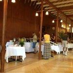dining room at breakfest