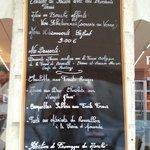 Les desserts et fromages