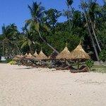 Beach lounges