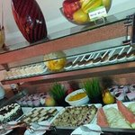mouth watering verity deserts. ..at alisan