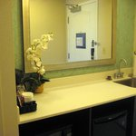 Kitchenette/entry into suite