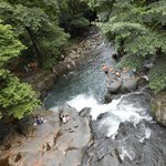 5 mins from the house is the best swimming holes in all of costa rica