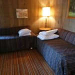 Day beds in Birch Cabin