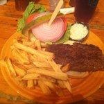 bison burger mmm