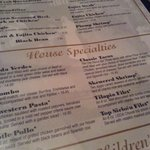 Check out some of the menu items