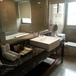 Clean and big bathroom
