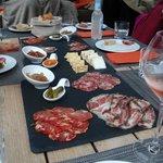 assiettes spécialités locales