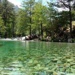 piscines dans la rivière