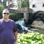Grist Mill Water Wheel & Water Runoff