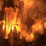 Inside the cave (little blurry as your not allowed flash)