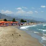 Strand vom anderen Hotel