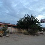 Front of Harmony Motel off Hwy 62 Joshua Tree 29 Palms