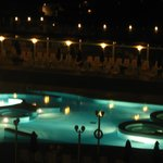 Spa at night