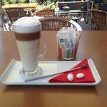 My delicious latte!