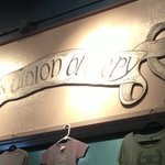 Sign above the bar for New Albion (Google to find more!)