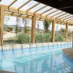 piscina aquecida que foi a salvação para os dias frios