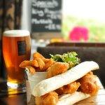 Our Fish Finger sandwich
