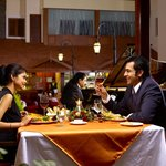 Romantic dinner with piano performance