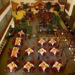 Beautiful setting in Atrium lobby