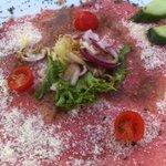 Carpaccio of Beef with Parmesan