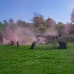 Smoke grenades were cool!