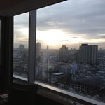 View from 16th floor corner room