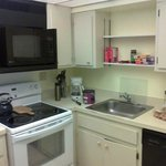 Kitchen in 2 BR unit 403