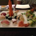 surtido de sushi