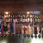 Our draft beer selection