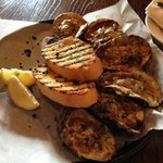 Chargrilled Oysters!  Delicious