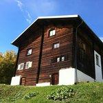 Das Nühus ist ein über 200-jähriges Walserhaus.