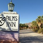 Entrance to 29 Palms Inn