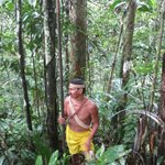 Bai, our Huaorani guide