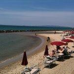 Spiaggia lato nord (verso Piombino)