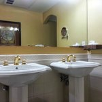 Surround mirror and beautiful vanity sinks