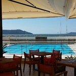 jedan od pogleda iz Bluefina je pogled na bazen