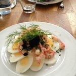 Rejer og aeg/shrimp and egg