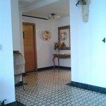 Entrance hallway and reception area
