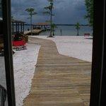C2 View of Beach at White Lake Holiday Resort