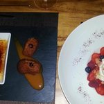 Two desserts