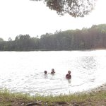 Great swimming beach for young children