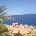 The view of red sea