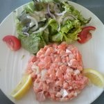 Tartare Saumon/Saint Jacques
