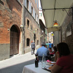 Another view from Il Sasso outdoor table