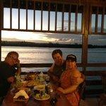 Apos a praia almoço no Peixarão