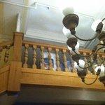 lobby, balcony now a gross storage