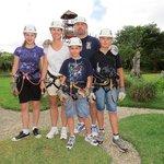 Experience Ziplining in Family